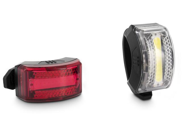 Cube ACID Outdoor HPP Veiligheids Verlichtingsset LED, black kein StVZO